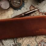 ココマイスターのペンケースはナポレオンカーフ
