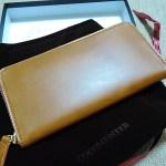 ココマイスターの長財布はこんな風にとどく
