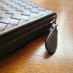 ボッテガヴェネタの長財布は牛革?