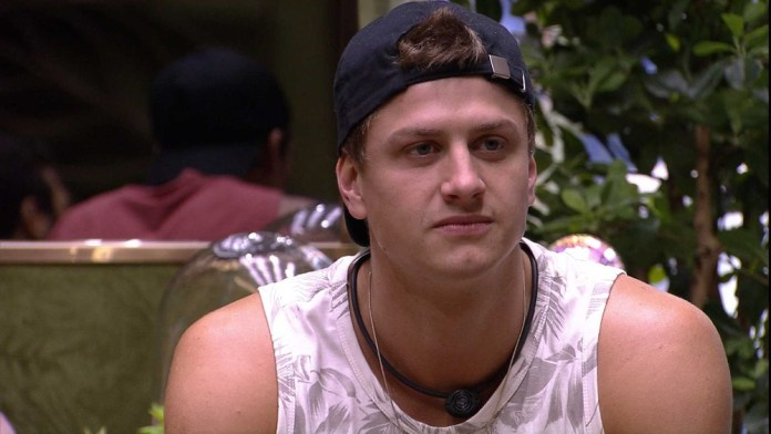 Lucas was eliminated from BBB20 (Photo: Reproduction)