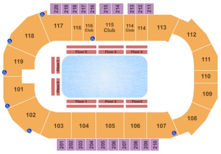 Showare Center Tickets And Showare Center Seating Charts