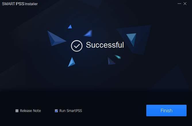Khởi động phần mềm Smart PSS Dahua xem trên máy tính