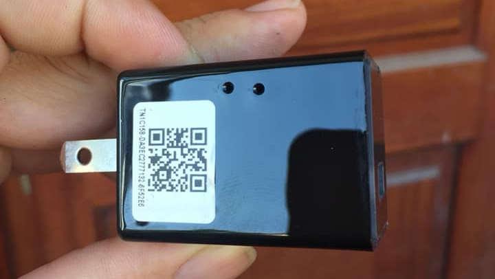 Cục sạc camera ngụy trang wifi