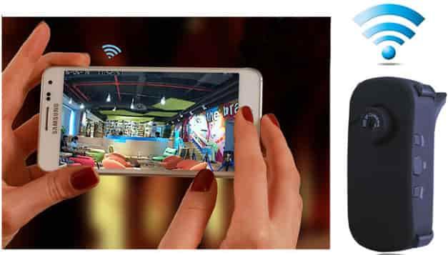 Camera ngụy trang kết nối điện thoại không dây W25