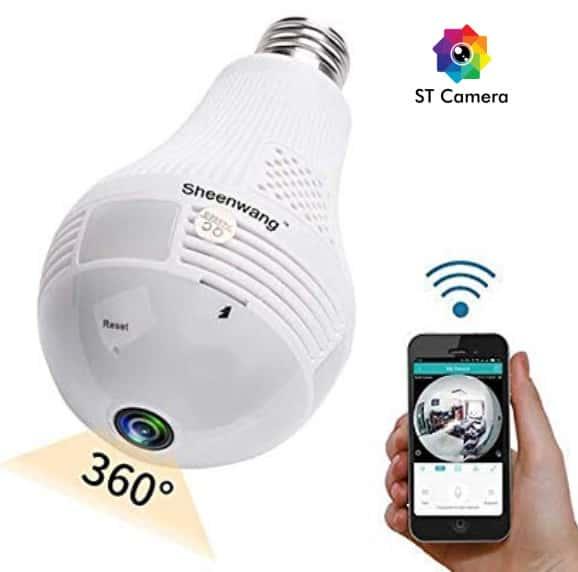 Camera ngụy trang IP bóng đèn