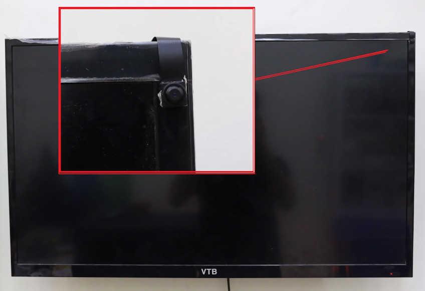 Cách ngụy trang camera trên Tivi