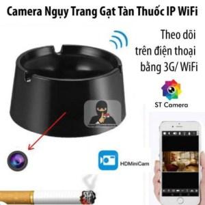 camera ngụy trang mini gạt tàn