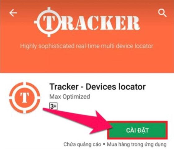 Phần mềm định vị điện thoại tracker devices locator