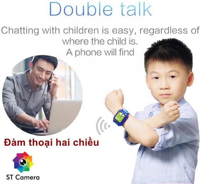 Đồng hồ định vị trẻ em có tính năng đàm thoại hai chiều