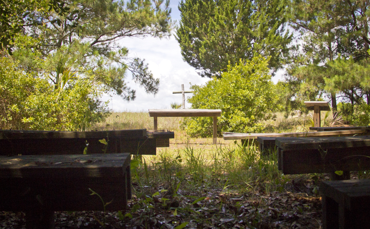 Outdoor Chapel at the Ocean of St. Christopher