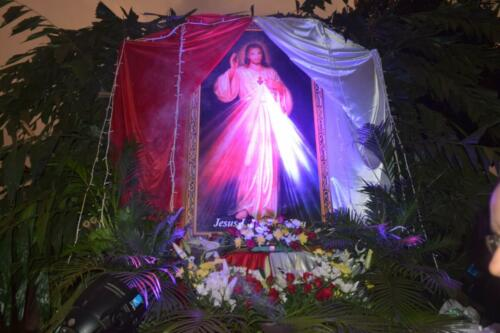 Procession of Devine Mercy