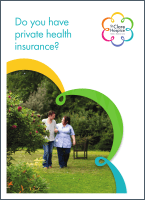 Front cover of leaflet