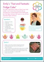Fridge cake recipe
