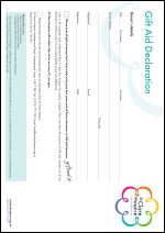 St Clare Gift Aid Form 2015