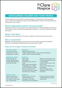 Safeguarding Children and Young People Factsheet