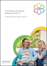 Front Cover of Annual Report & Financial Statements 2016-2017