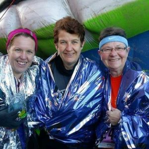 Angela and Kim complete the Manchester Marathon