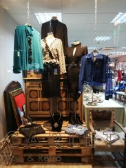 Photo 4 Scarlet Vintage & Retro proudly displays the upcycled items fashioned by Harlow College students