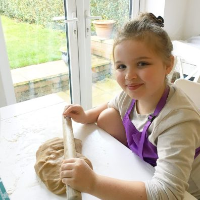Lottie is baking gingerbread angels for a month to raise funds for St Clare Hospice in memory of her nanny Susie
