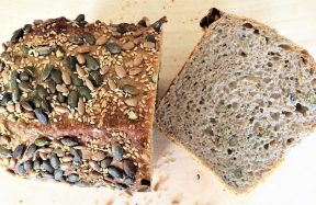 Proof bakery seeded bread