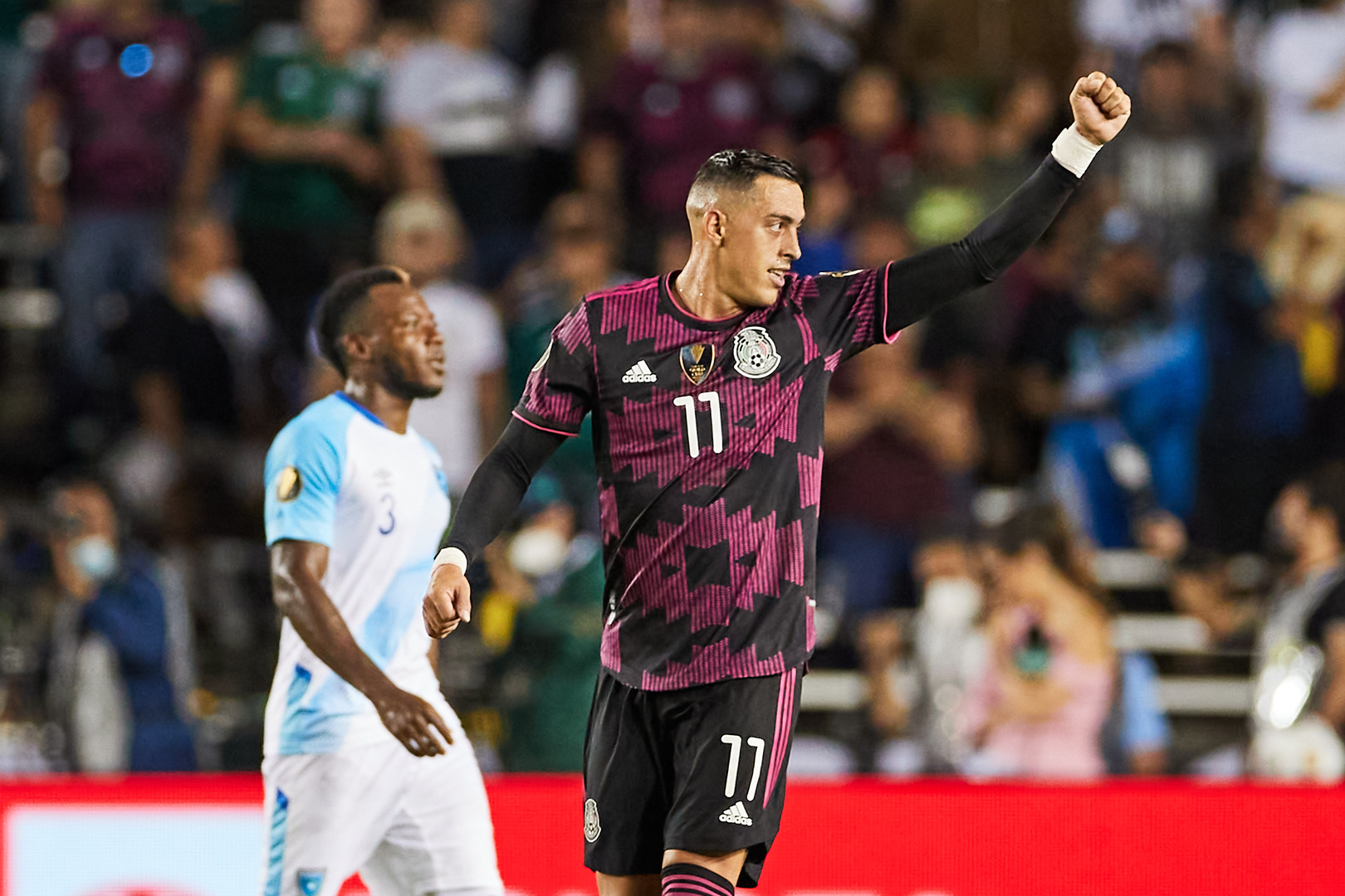 Fireworks from Funes Mori as Mexico down Guatemala