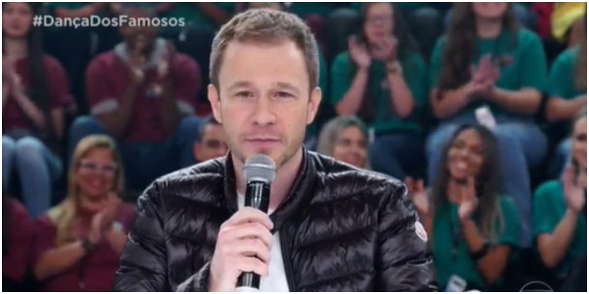 Tiago Leifert quebra pau com famoso na Globo por causa do Domingão