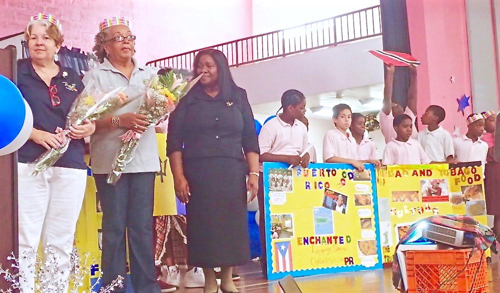 Juanita Gardine Students Go International St Croix Source