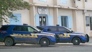 V.I. Police cars. (File photo)