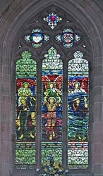 Tamworth Parish Church Window
