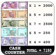 Download fast new Cash counter and calculator 2020
