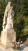 Statue av St. Dominikus