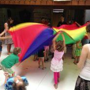 Music & parachute play
