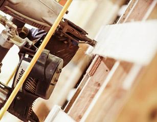 Reparation af paller