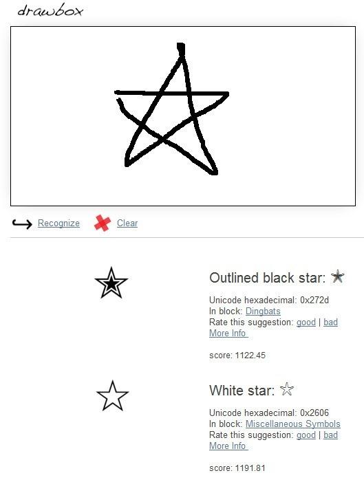 線上工具《Shapecatcher》用畫的搜尋你無法形容的符號 - 就是教不落