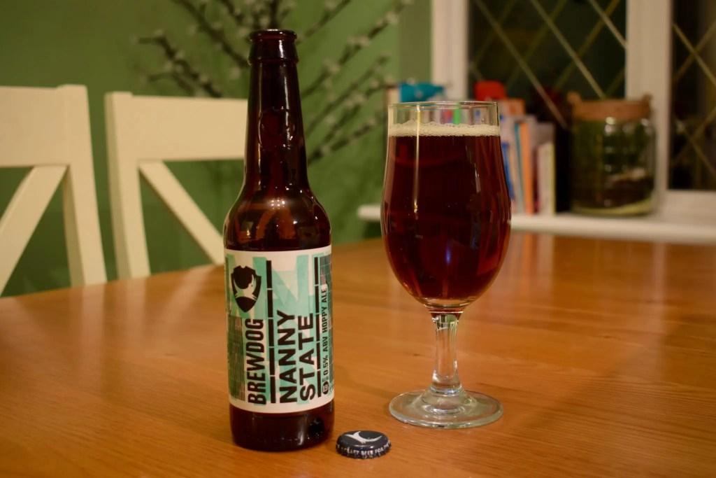 Brewdog Nanny State >> Brewdog Nanny State Low Alcohol 0 5 Pale Ale Review