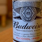 """Prohibition Brew"" (0%) by Budweiser"