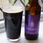 Nirvana Brewery Kosmic Stout poured close up