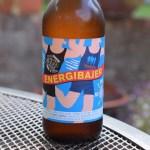 Energibajer alcohol-free beer bottle label