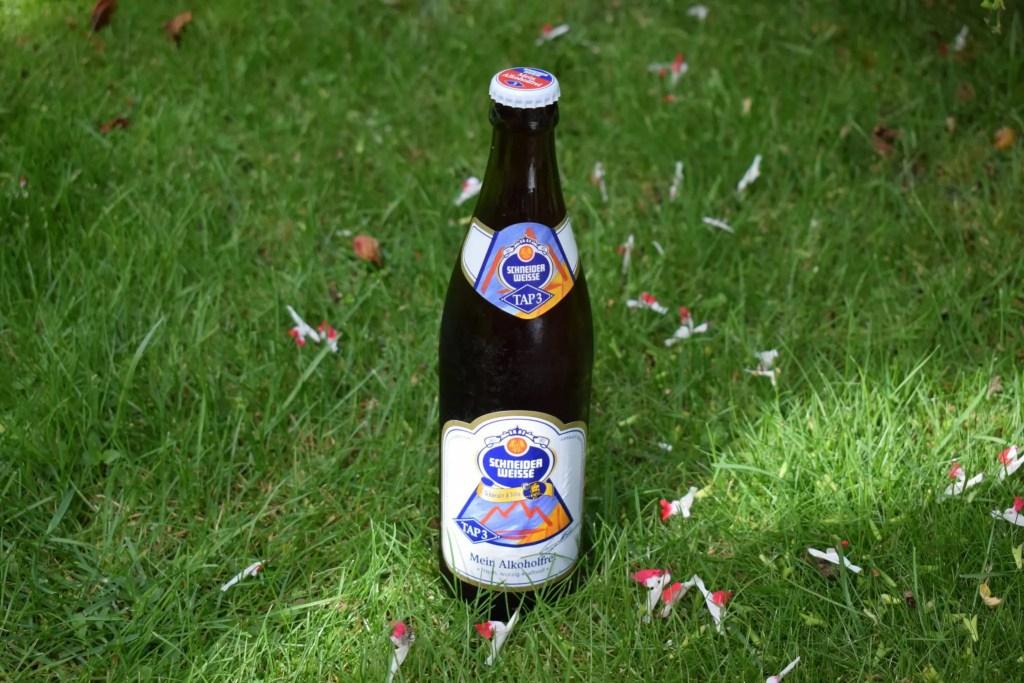"""Schneider Weisse """"Alkoholfrei"""" bottle"""