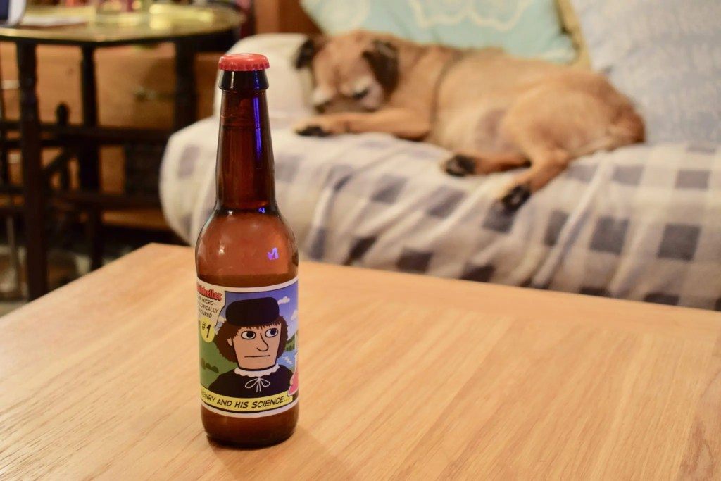 Mikkeller Henry Science alcohol free beer bottle