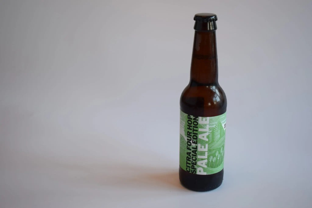 Bottle of Citra Pale Ale by Big Drop Brewing Co