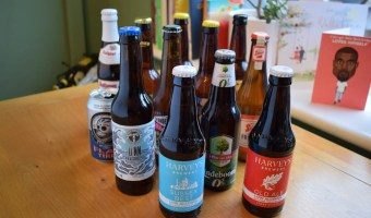Selection of non-alcoholic beers