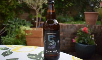 Bottle of Hambleton Ales Point 5 alcohol-free beer