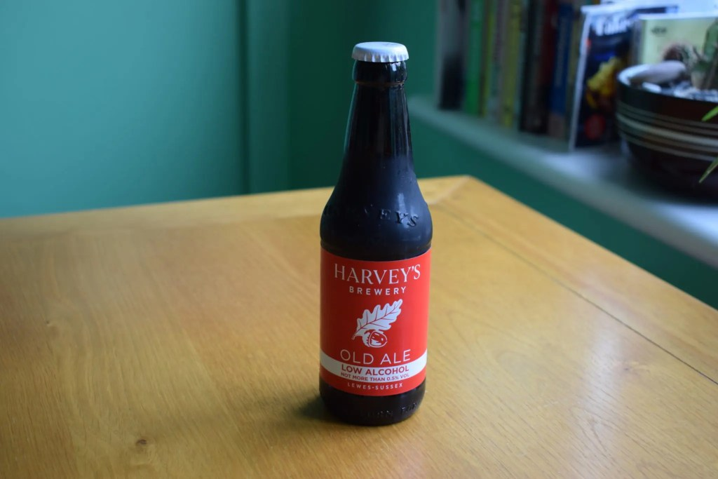 Bottle of Harvey's Low-Alcohol old ale