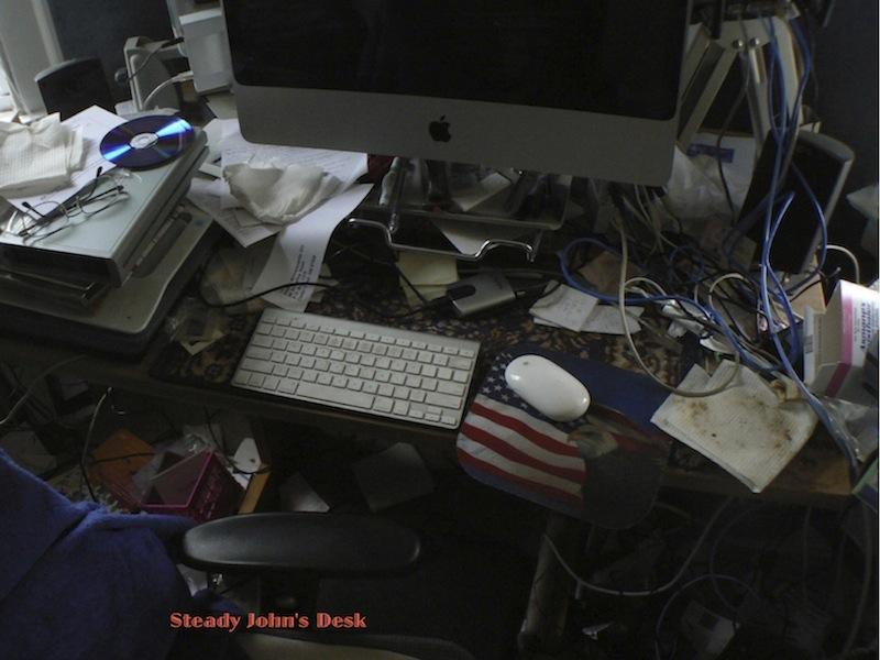 A Man and His Desk: Measurement of Genius? (4/5)