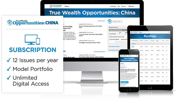 True Wealth Opportunities: China Review