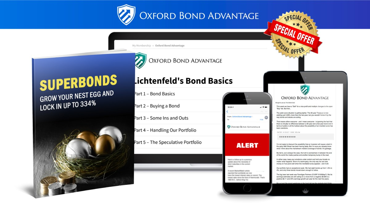 Oxford Bond Advantage Review (Marc Lichtenfeld) By Real Member