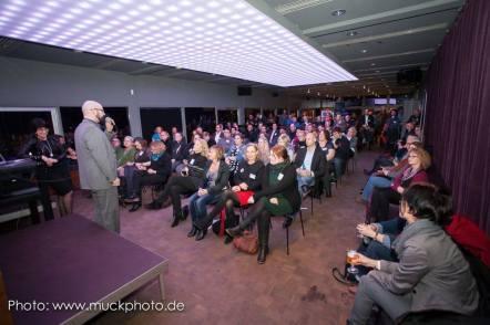 Kai Bünseler, Leiter des IT-Standorts Dortmund, begrüßte im Namen der Wirtschaftsförderung Dortmund die Gäste
