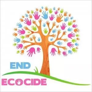 Logo (tree) for End Ecocide