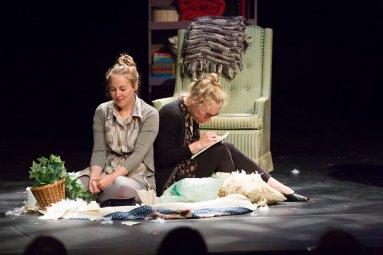 From left: Janelle Hanna, Lindsey Clark Photo by Scott Murdoch